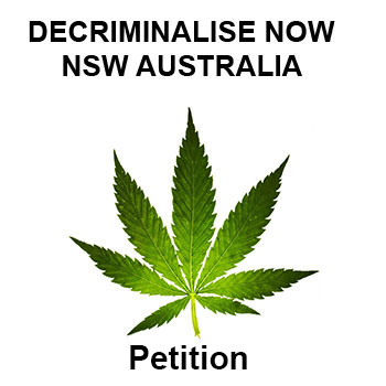 decriminalise cannabis in NSW Australia